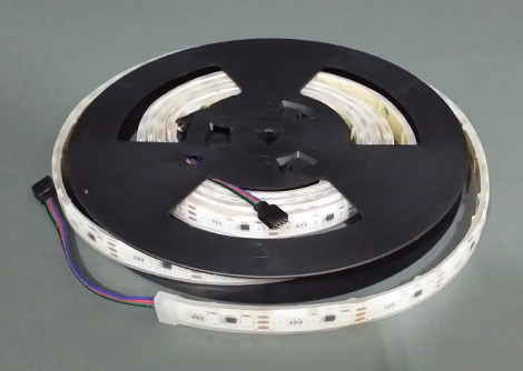 3球1アドレス 光の流れるテープライト