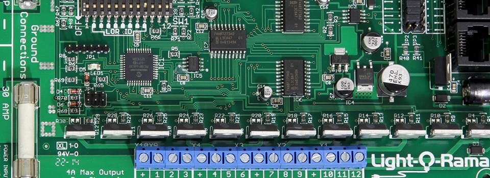イルミネーション制御部材(DMX・SPI)