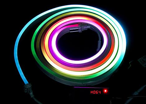 LEDネオンフレックスライト SMD5050型 SPI制御対応 RGB