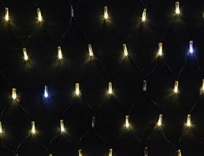 電球色(イエローゴールド+ホワイト点滅)