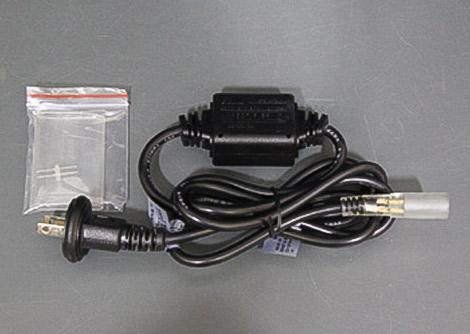 LEDロープライト(チューブライト) 電源コード、固定タイプ
