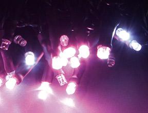 ライトピンク+ホワイト点滅