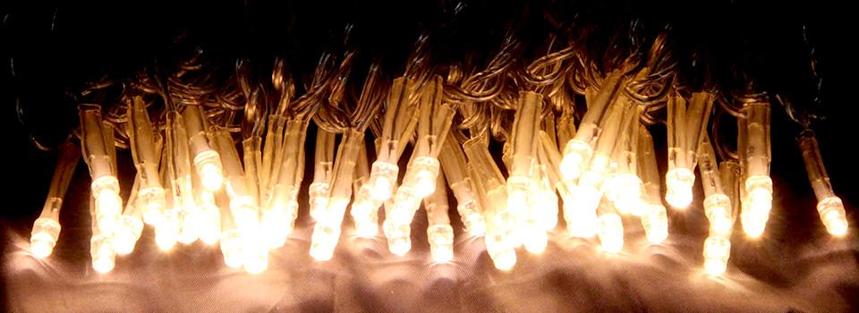 LEDストリングスライト