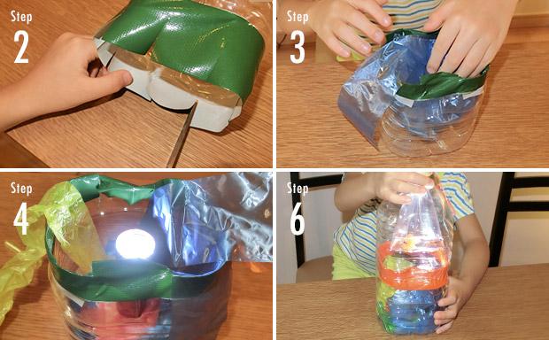 LED提灯の作り方