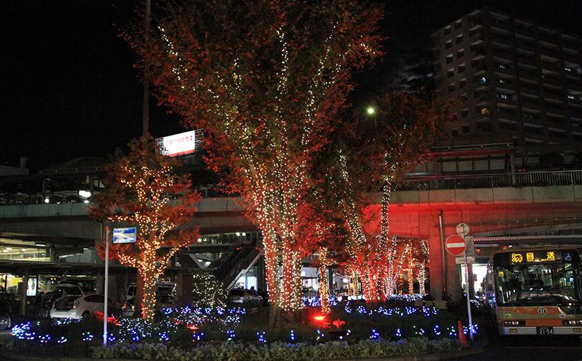地元市民に愛される藤沢駅の冬期イベント「藤沢駅南口イルミネーション」